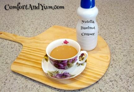 Nutella Hazelnut Coffee Creamer