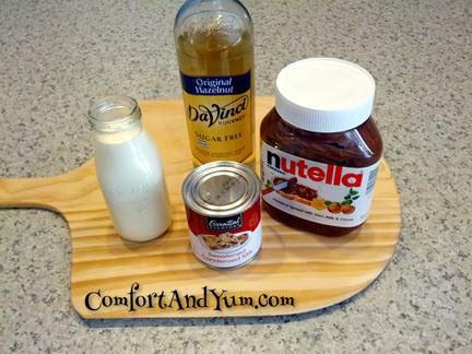 Nutella Hazelnut Creamer Ingredients
