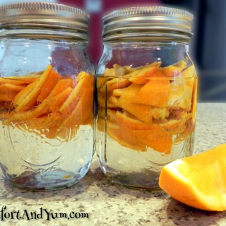 DIY All Natural Orange Cleaner Concentrate