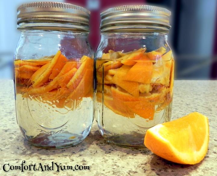 DIY All Natural Orange Cleaner Concentrate