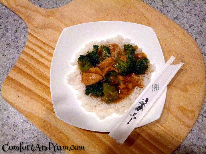 Chinese Take-Out Chicken with Broccoli