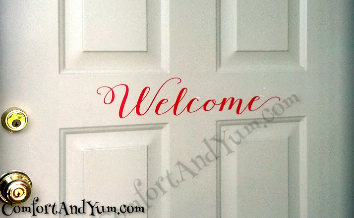 Welcome Close Up