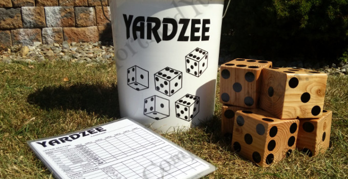 YARDZEE! A Bucket of Fun for Family and Friends!