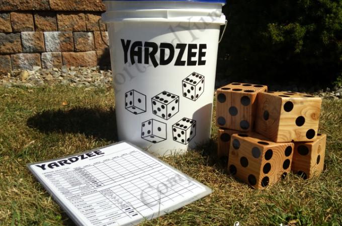 Yardzee Set - Play Anywhere